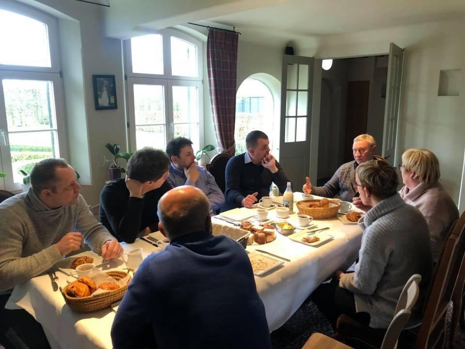WIZYTA U ETIENNE MEIRLAEN (BELGIA) 2018